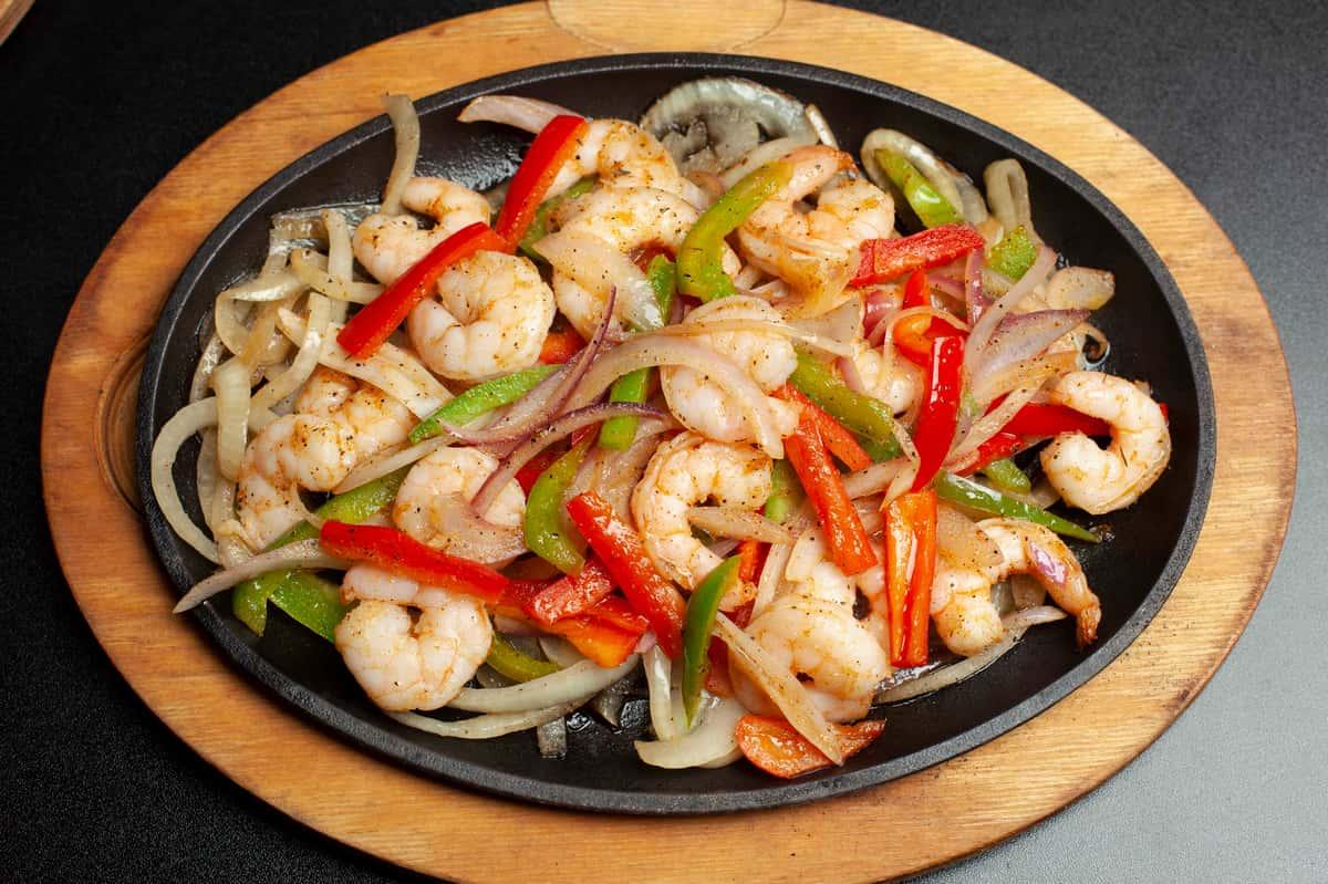 Shrimp Fajita Quesadilla (2pc)