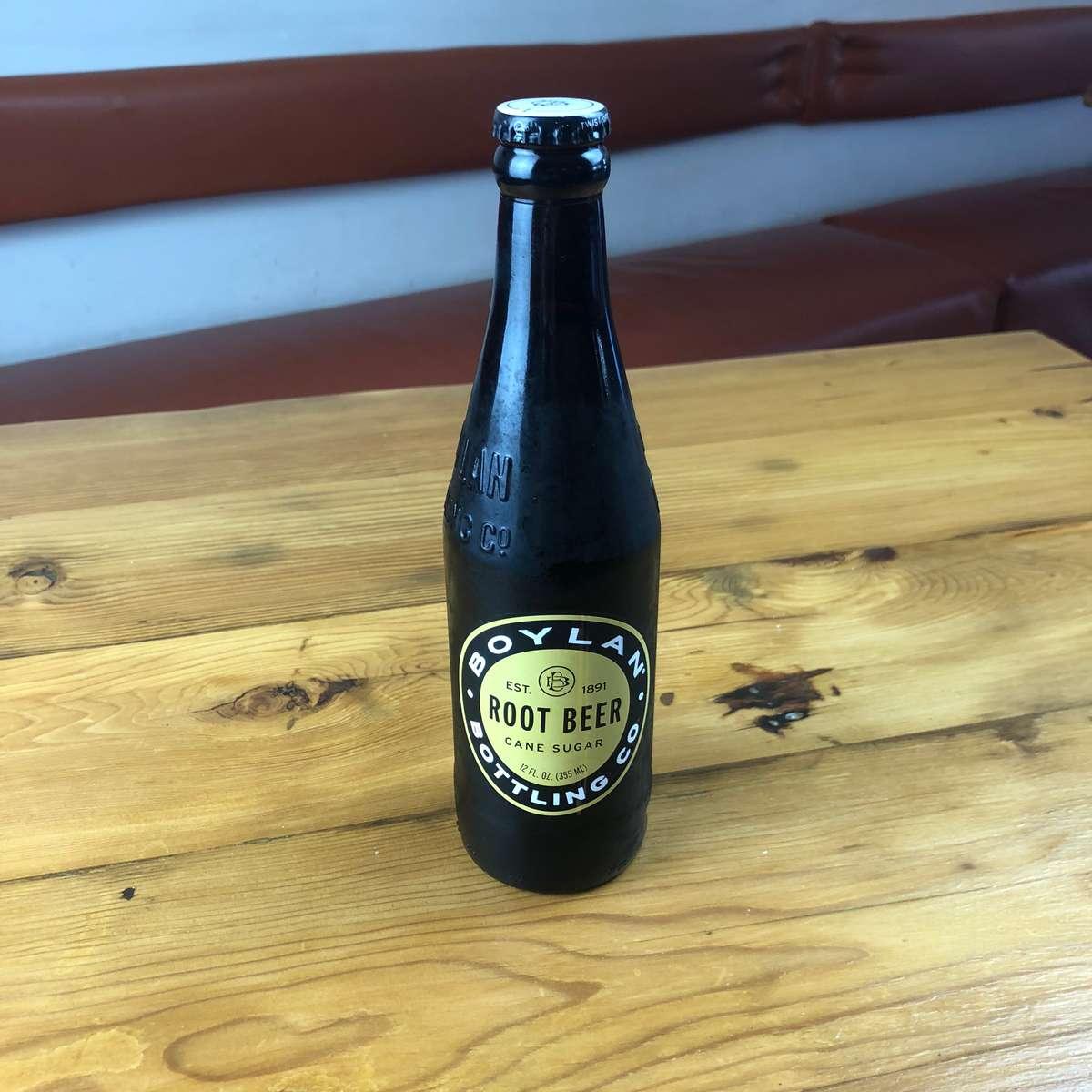 Bottled Boylan Root Beer