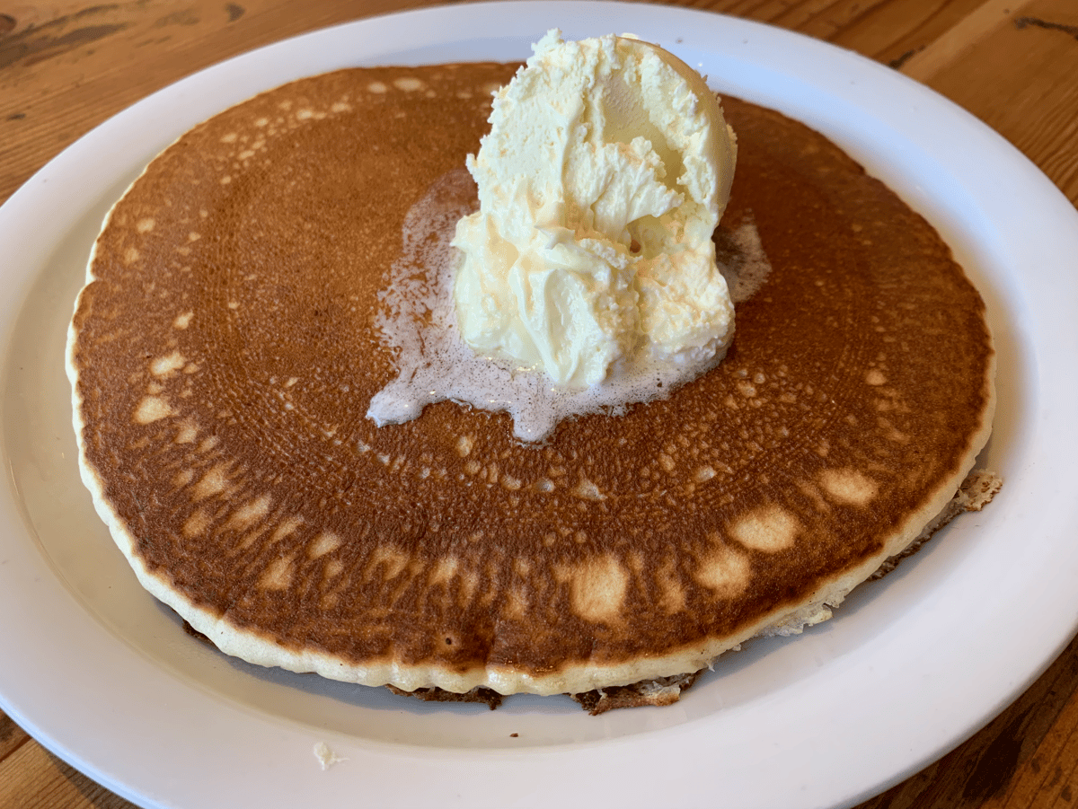 The Buttermilk Pancake Stack