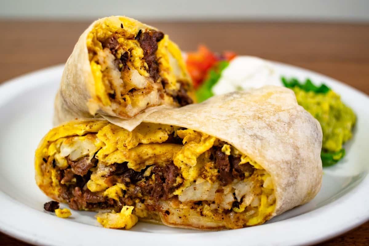 The Steak Burrito