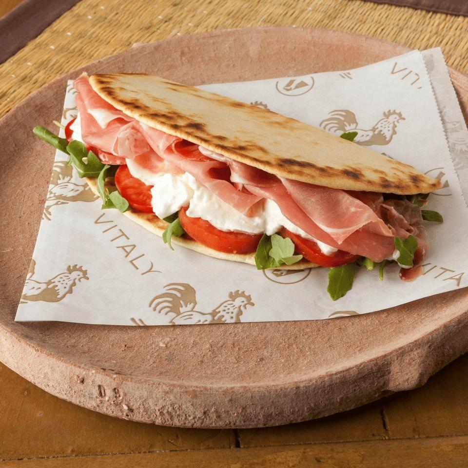 pita style sandwich