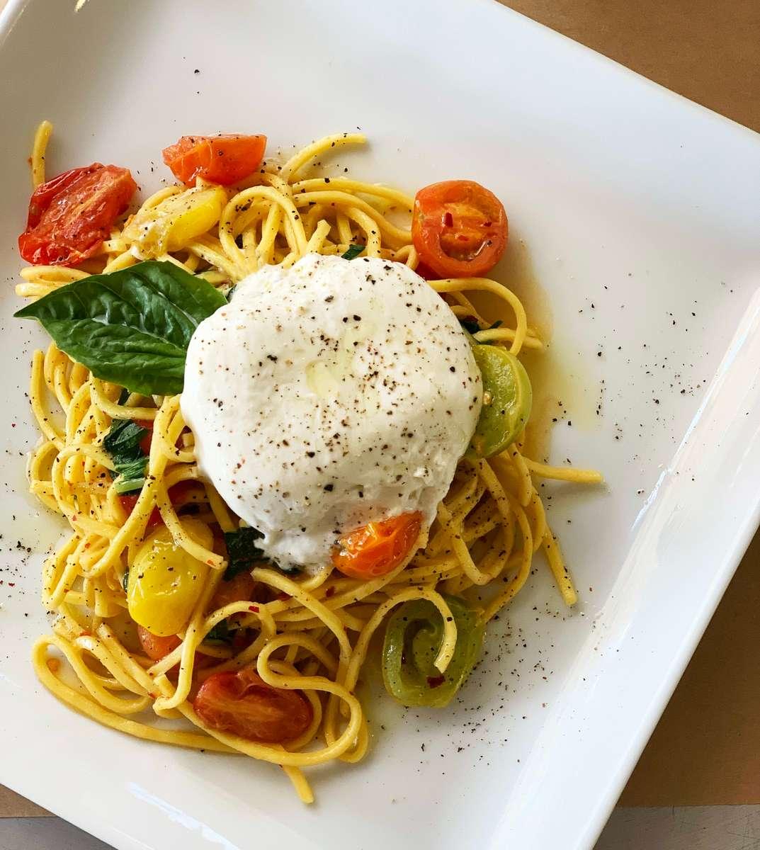 Spaghetti Vesuvio