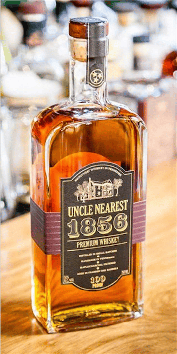 uncle nearest whiskey bottle