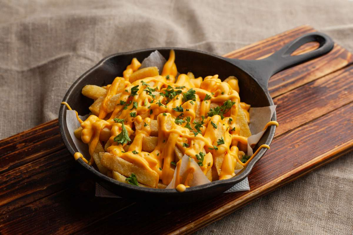 Four Cheese Fries