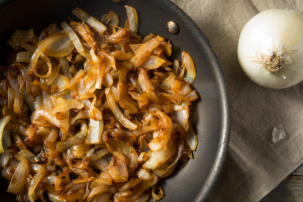 Wings Caramelized Onions