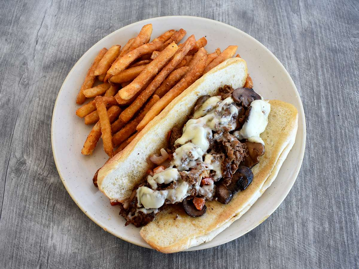 THE LOADED CHEESE STEAK (Philly Style)