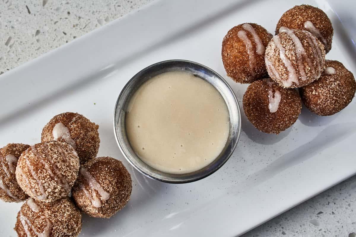 Fresh Fried Donut Holes