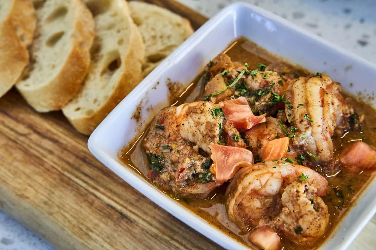 Carribean Jerk Shrimp