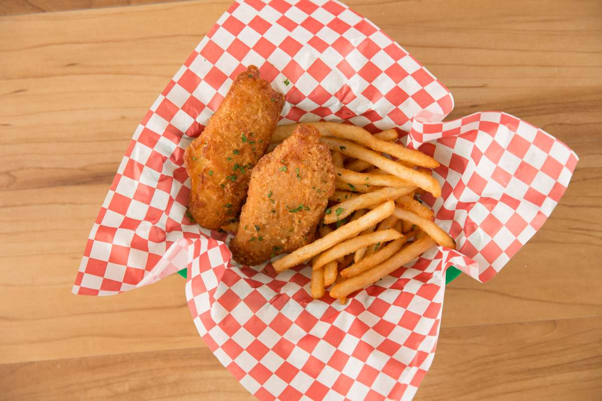 Fried Cod and Fries