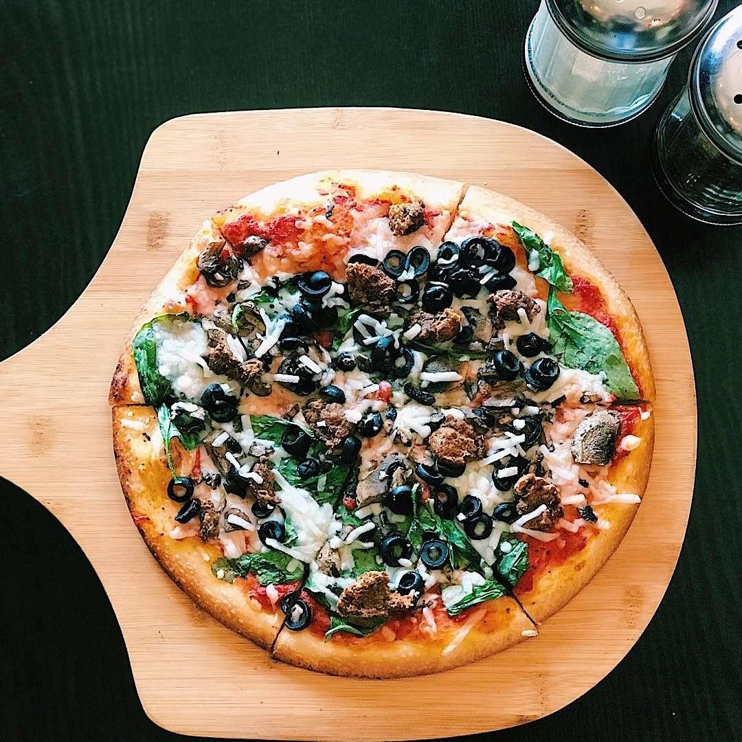 Happy Vegan Pizza