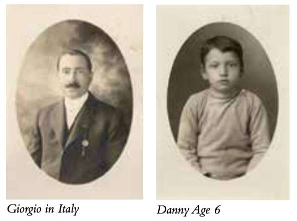 Giorgio in Italy; Danny Age 6