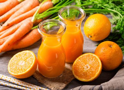 Orange Spice Bottled Juice