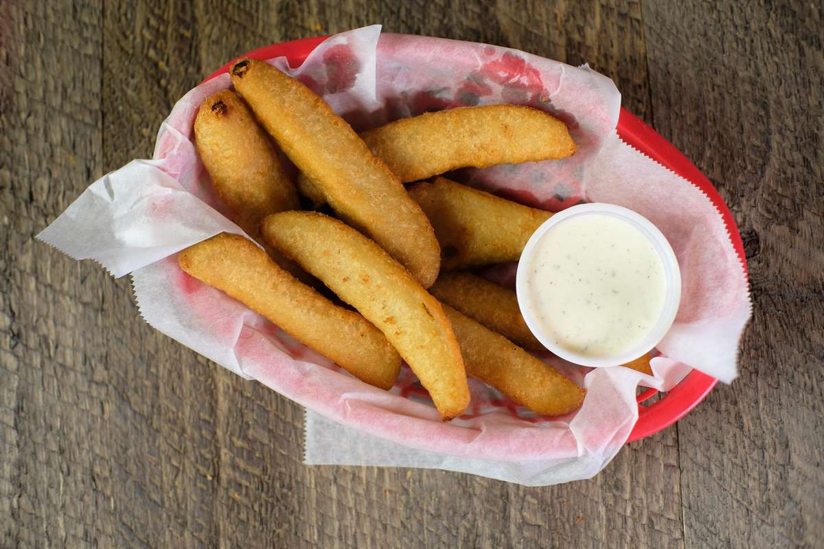 Fried Dill Pickle Spears