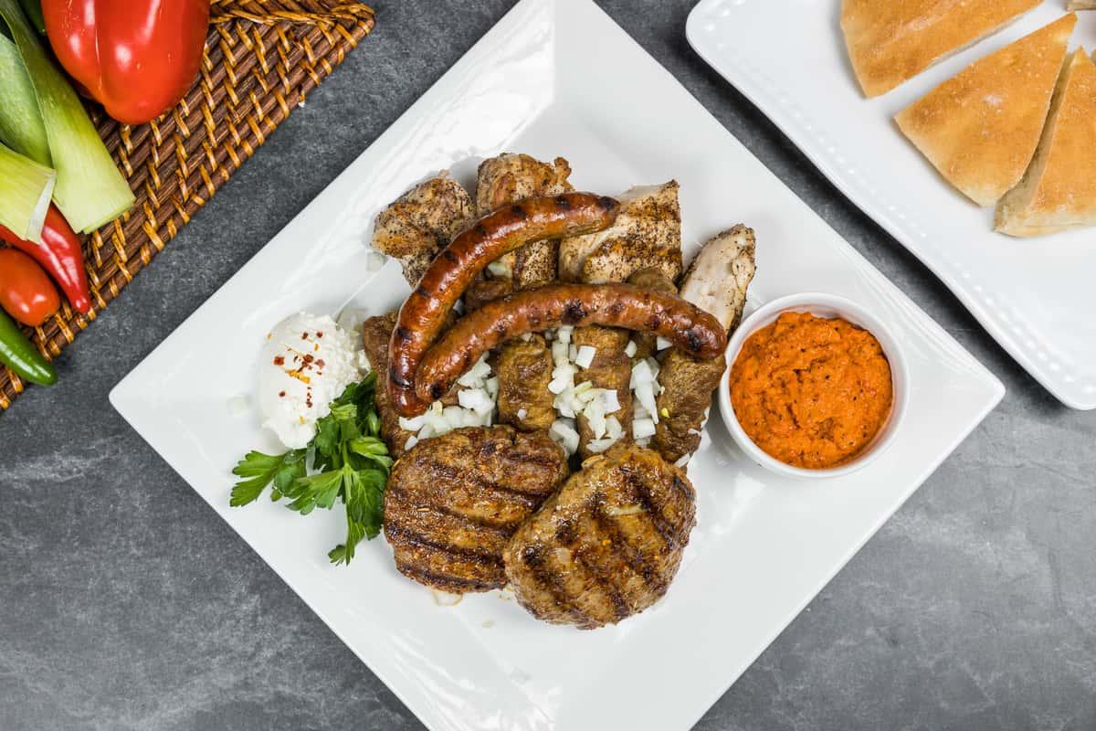 DSD Mixed Meat Platter