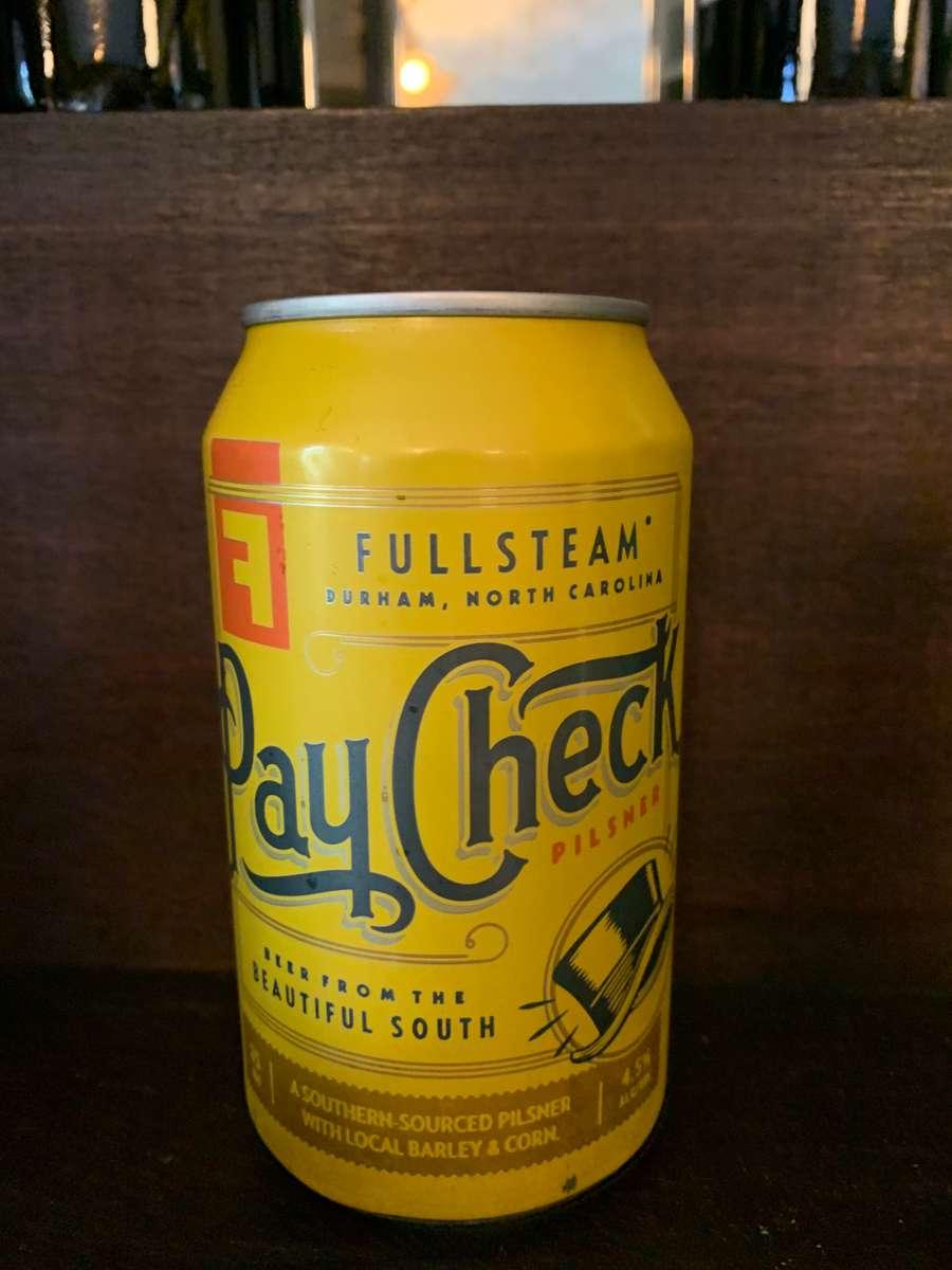 Fullsteam Paycheck, Pilsner