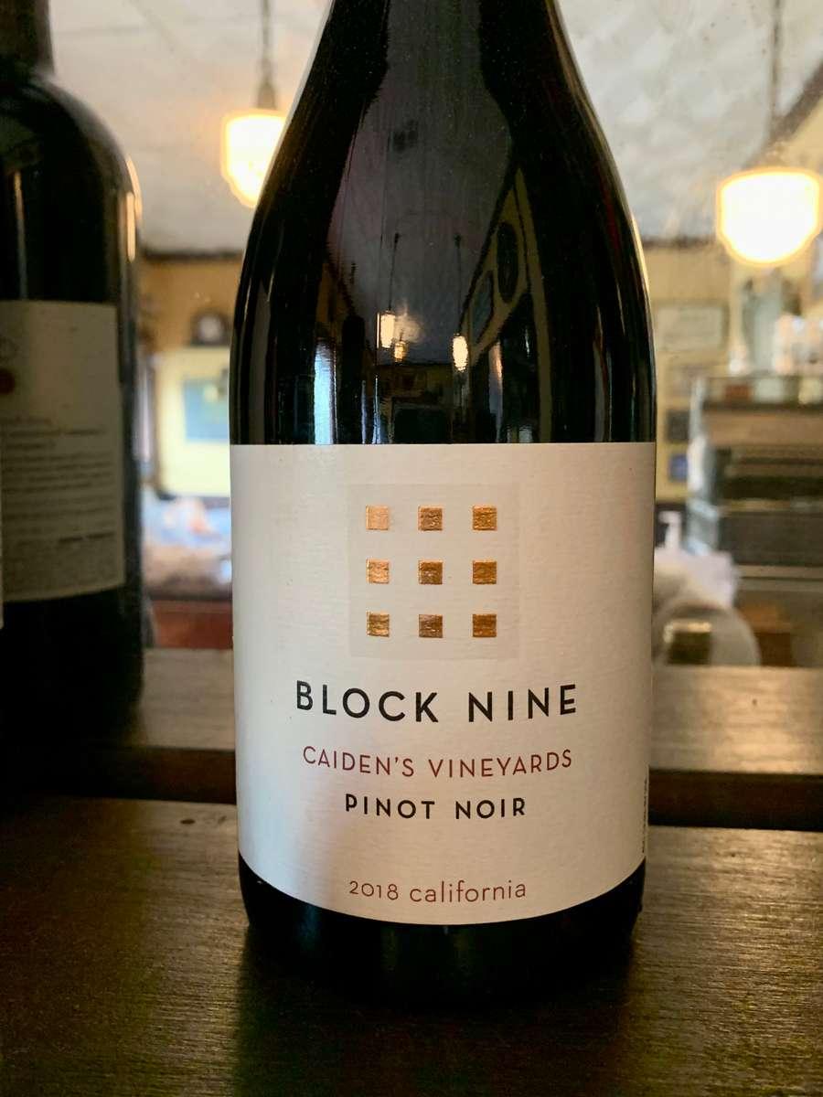 Pinot Noir, Block Nine 2018