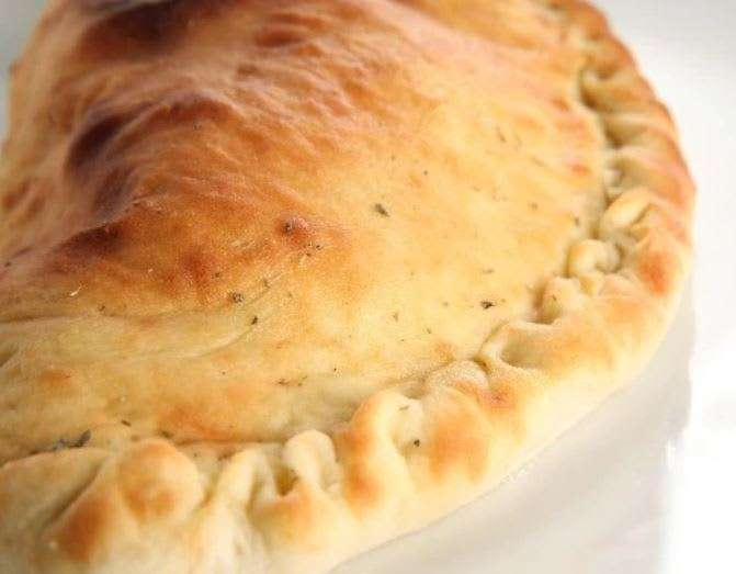 Spinach and Chicken Calzone