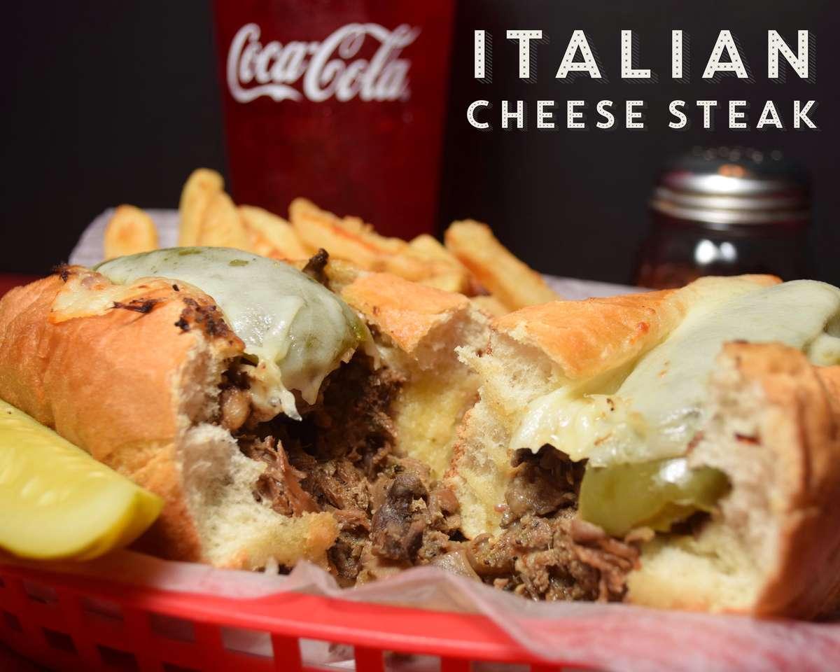 Italian Cheese Steak Sandwich