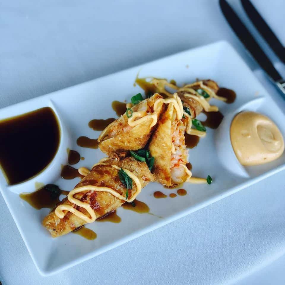 Shrimp + Crab Spring Rolls