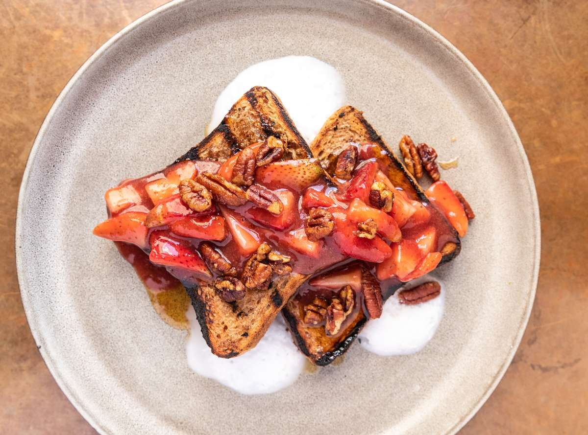 Fitzroy Grilled French Toast