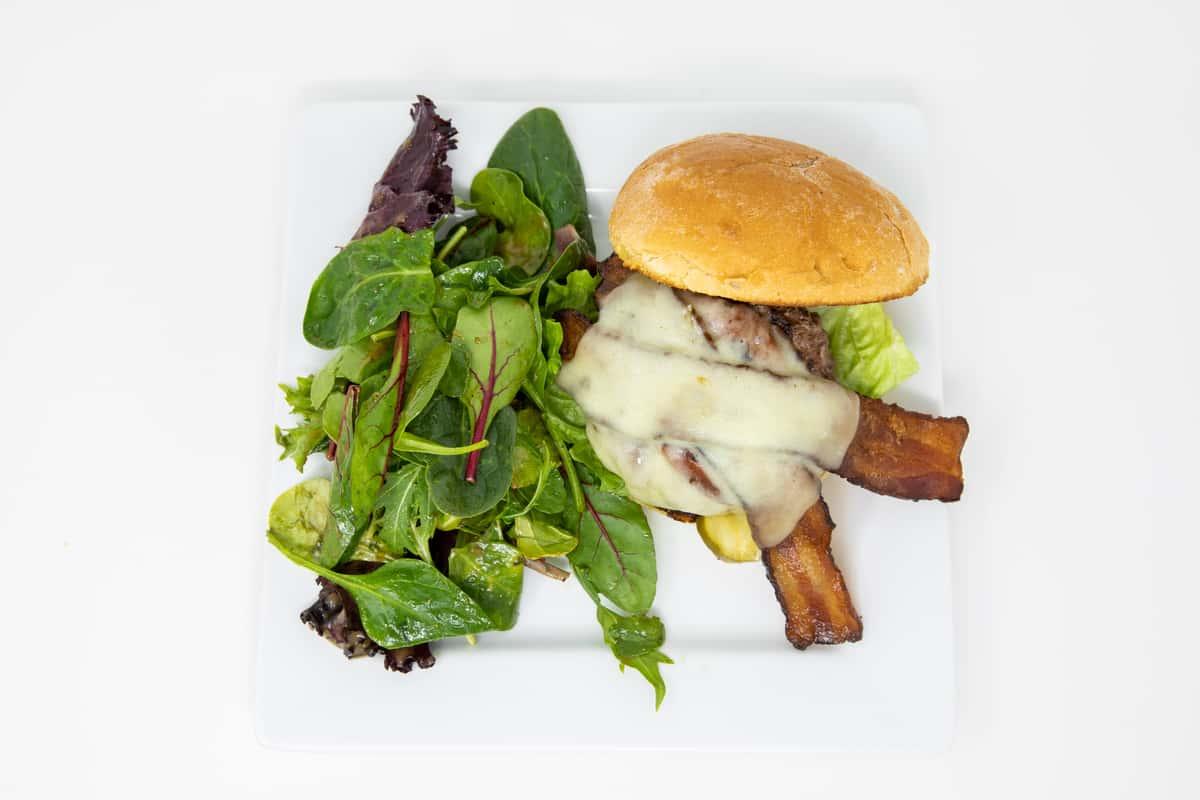 Peoples Bison Burger