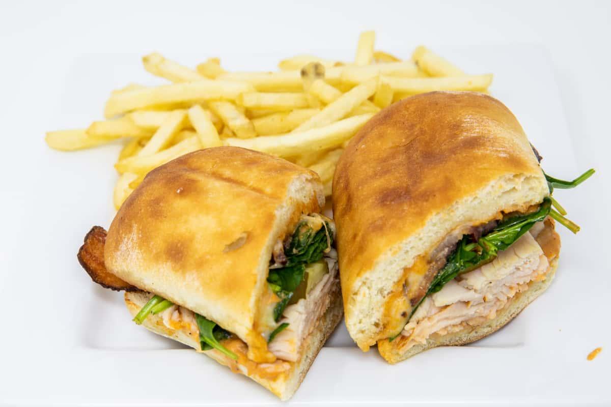 Turkey & Bacon Ciabatta