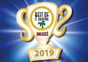Voted Best of St Augustine 2019 - Best Lunch Restaurant