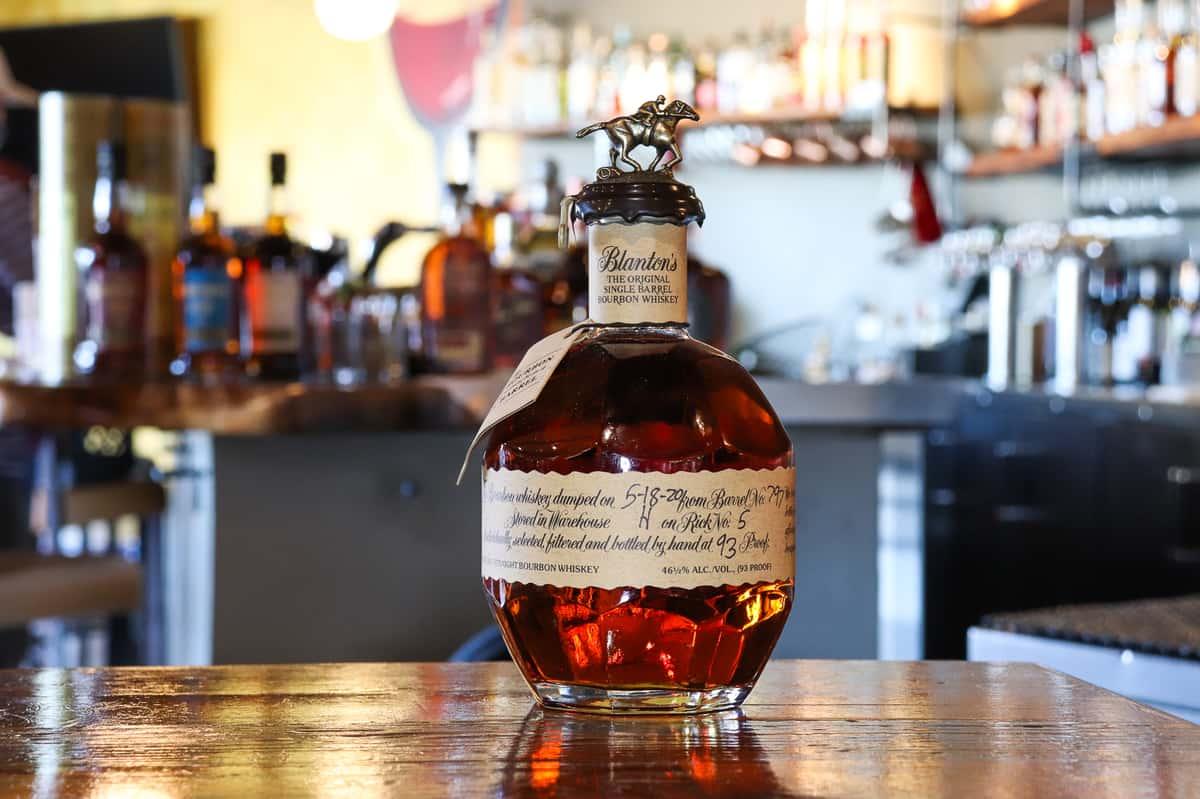 Blantons Single Barrel Bourbon Whiskey
