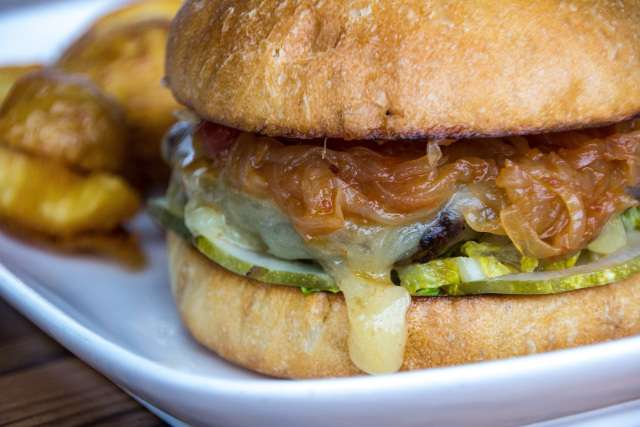 Happy Hour Burger – The Only Burger That Belongs on the Table