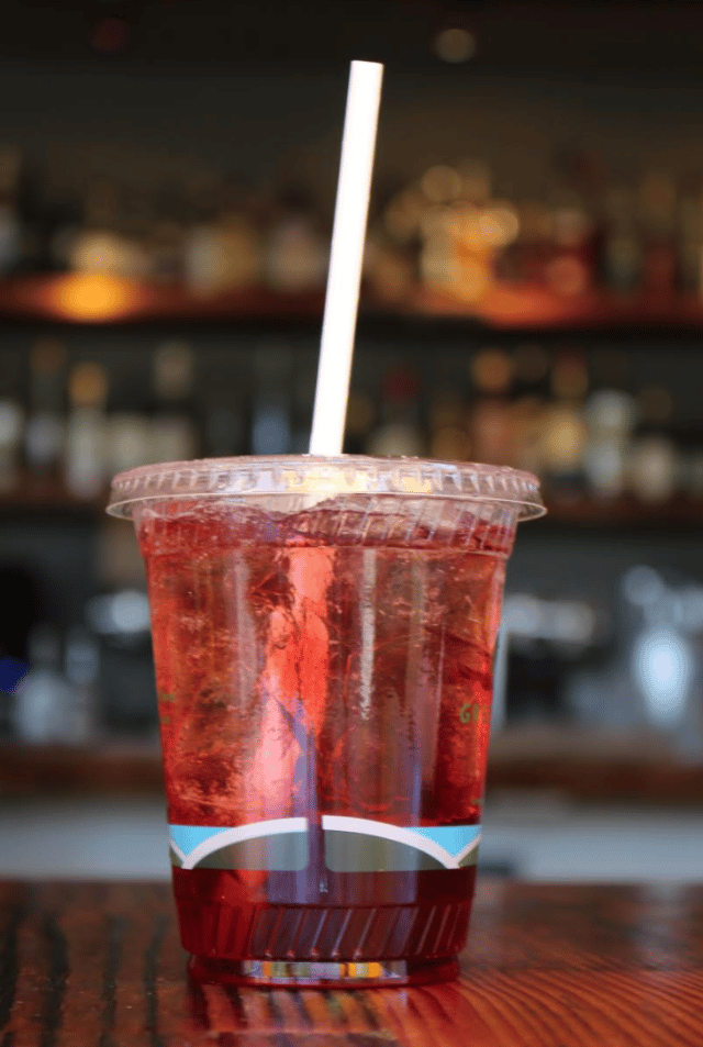 Pomegranate Hibiscus Soda