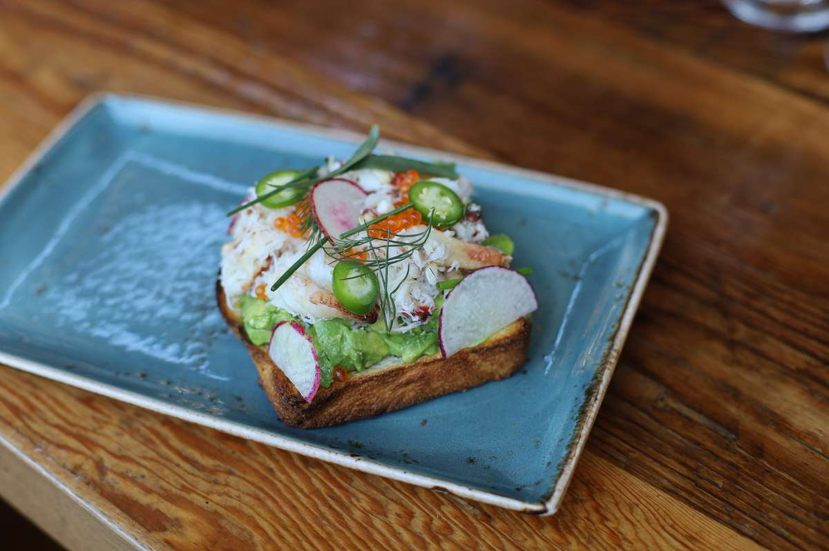 Dungeness Crab & Avocado Toast