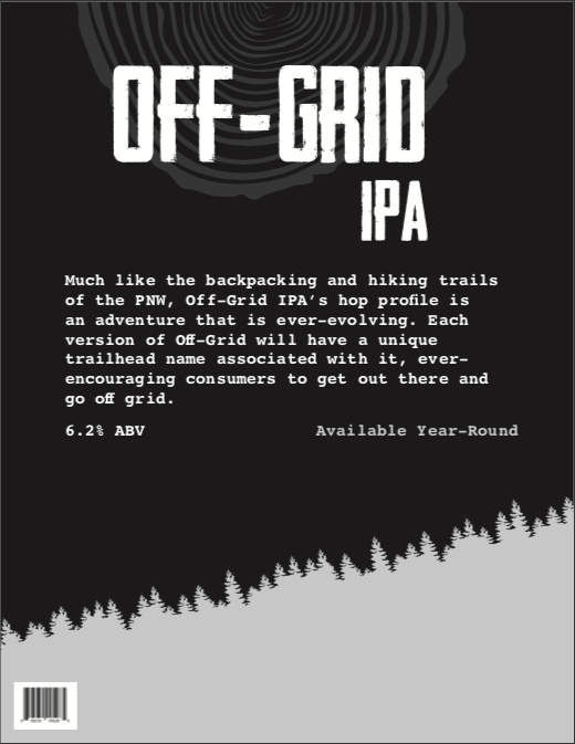 off grid ipa - click to download PDF