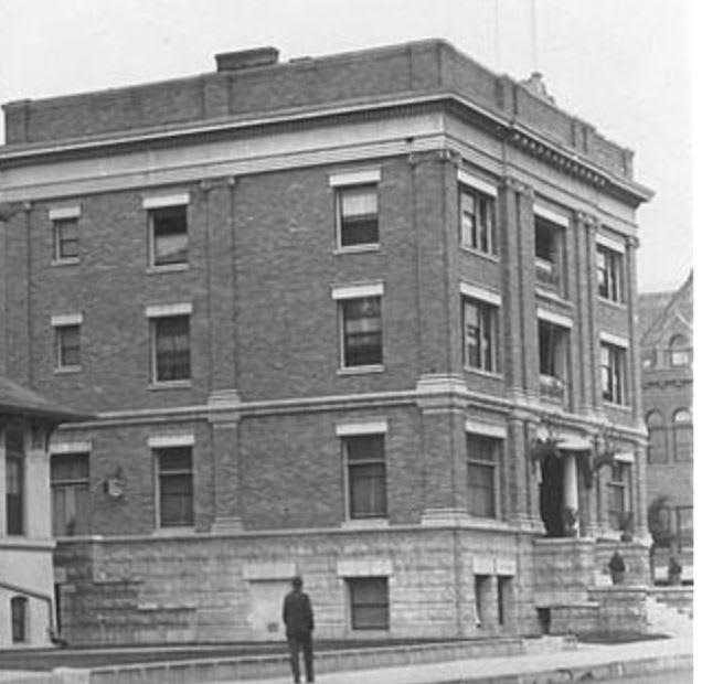 Santa Ana Elks building in downtown Santa Ana 1902