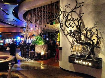 Entry to Javier's in The Aria Resort
