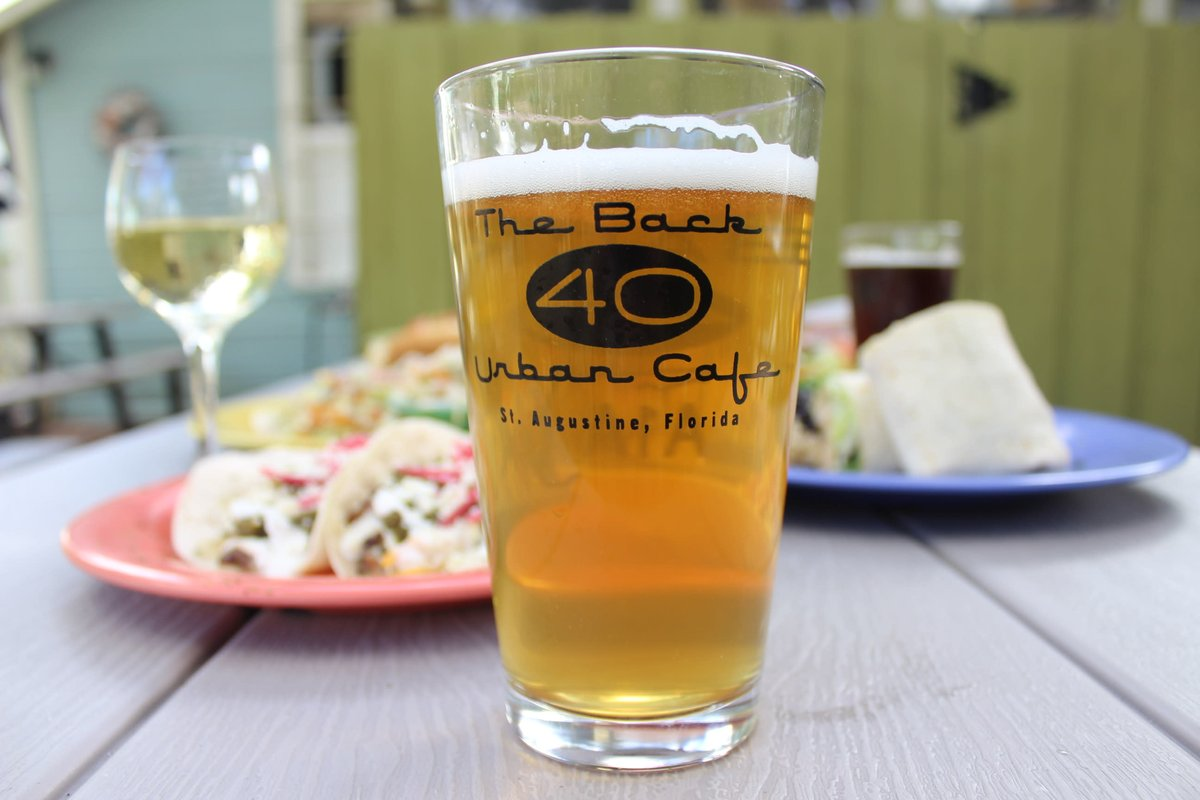 Beer and plates