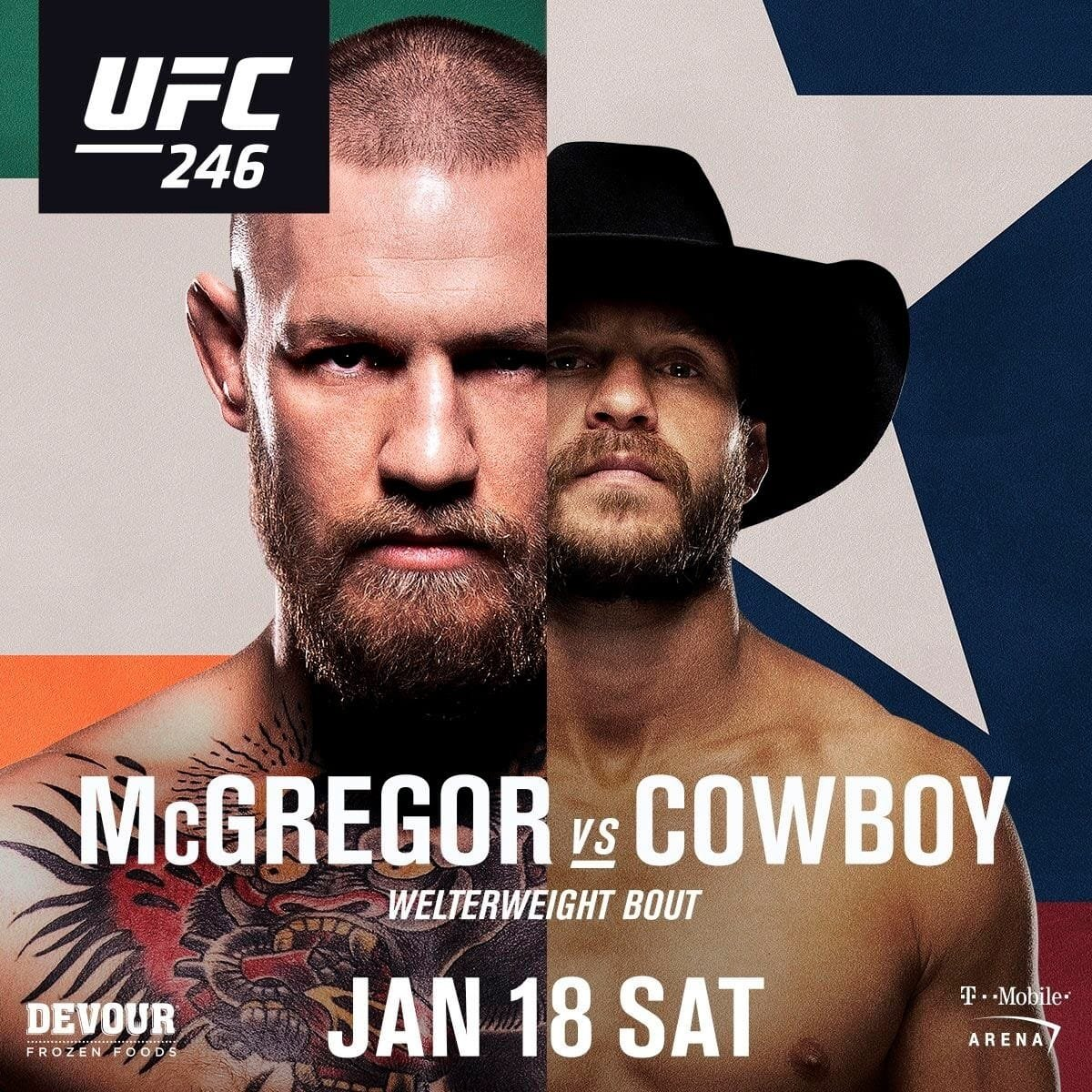 UFC 246: Conor McGregor vs Donald