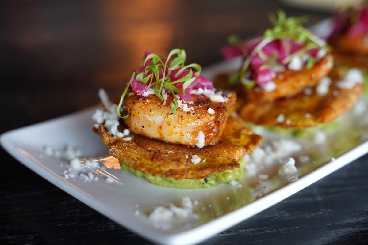 shrimp tostones
