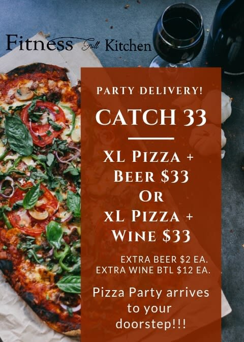 Pizza & Beer, Wine & Pizza delivery