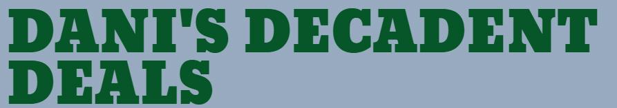 Dani's Decadent Deals logo