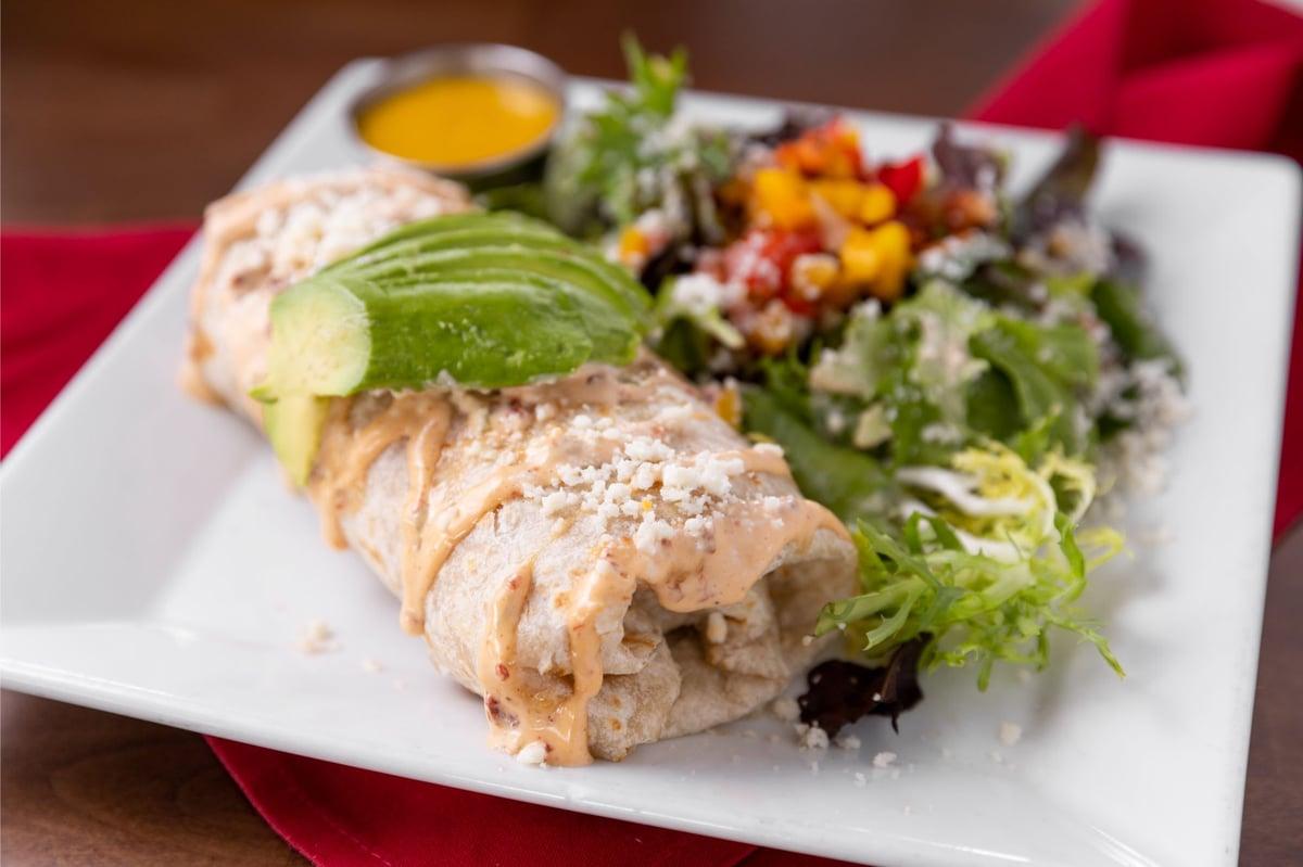 grilled shrimp burrito