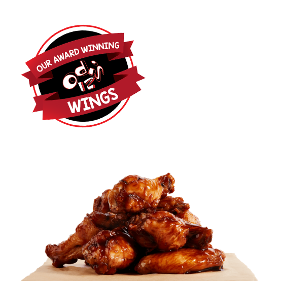 odis 12 wings - award winning