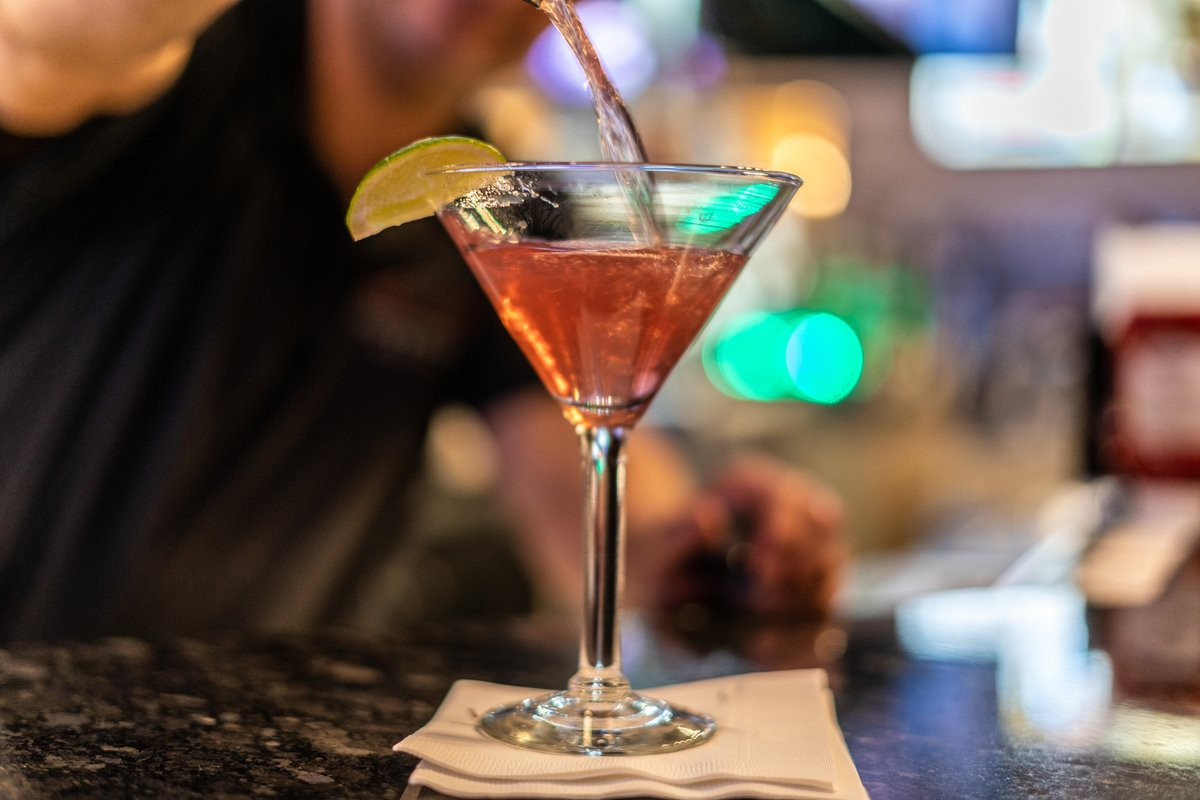 West End Grill martini