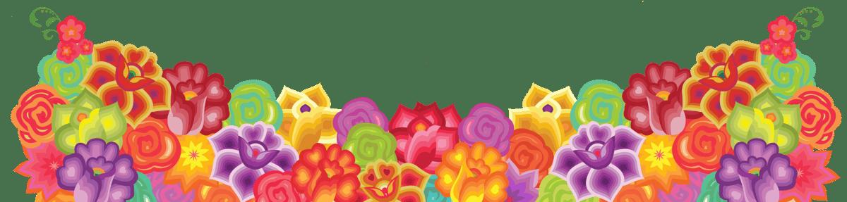 floral decor accent image