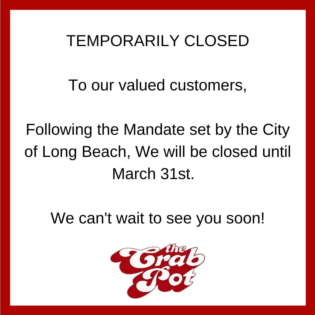 temporarily closed