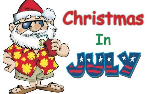 Christmas Eve in July!