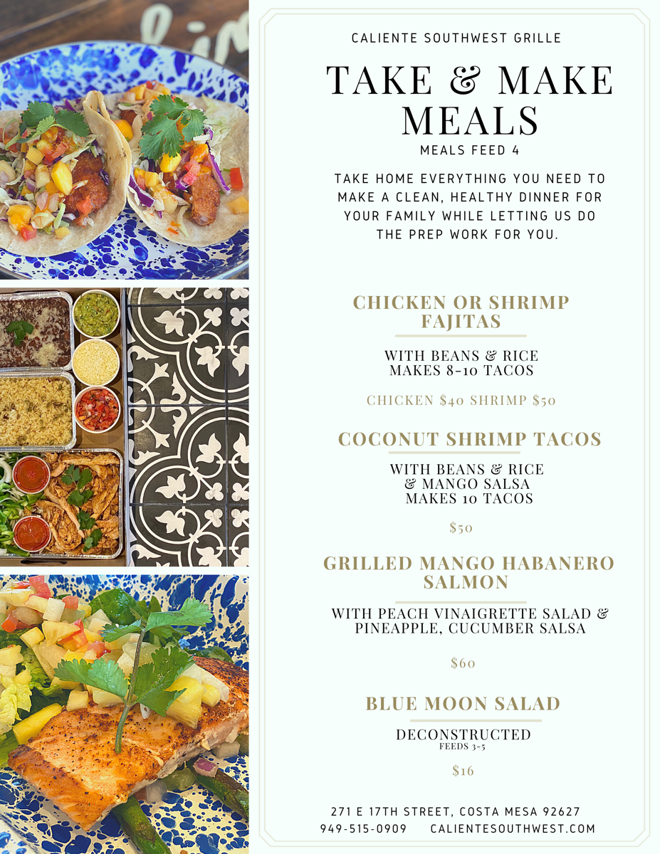 Mothers Day Take-N-Make Meals