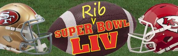 rib super bowl party