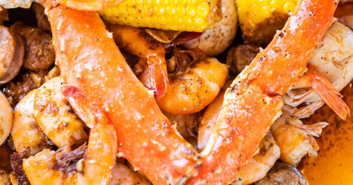 manchester menu  chosen 1 cajun seafood  seafood