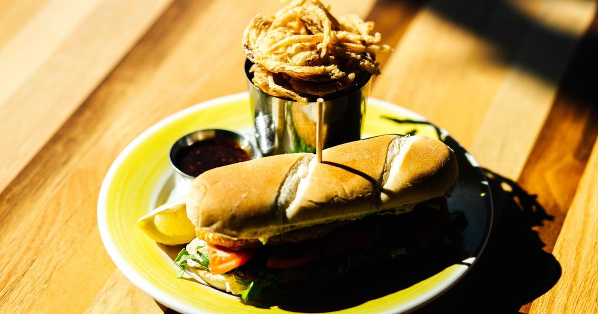 Go Fish Sandwich - Check Before You Trek