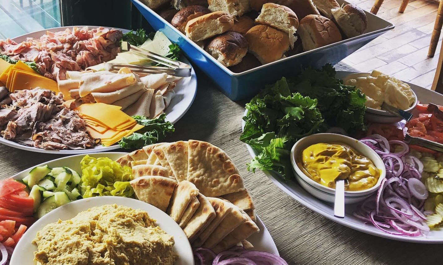 Food Medley for Private Events at the Spar